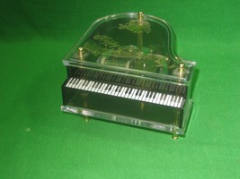 Vintage 1983 Schmid Musical Collectibles Happy Anniversary Piano Music Box - $18.65