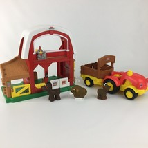 2005 Fisher Price Little People Farm with Sounds and Tractor w Sound toy... - $16.83