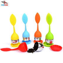 4Pcs Silicone Tea Infuser Leaf Strainer Filter Spice Diffuser Herbal Loo... - $12.99