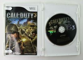 Call of Duty 3 (Nintendo Wii, 2006) CoD Complete EUC Tested image 3