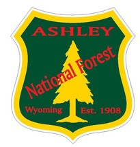 Ashley National Forest Sticker R3200 Wyoming You Choose Size - $1.45+
