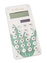 Fashionable Solar Calculator Cute Portable Calculator, Aloe Vera - $14.54