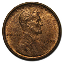 1909 VDB LINCOLN PENNY CENT COIN LOT# A 2065