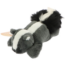 MagNICI Skunk Grey Stuffed Animal Magnet in Paws 5 inches 12 cm - $12.00