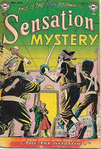 Sensation Mystery Comic Book #116, DC 1953 VERY GOOD - $120.93