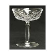 1 pair -2- Waterford Sheila Cut Crystal - Champagne saucer - Dessert - Sherbet - $79.70