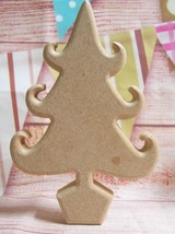 MDF 18mm freestanding Christmas Tree varied sizes Craft Blank shape  - $2.95+