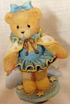 Figurine Enesco Circus Teddy Bear Girl in Blue Tutu - $9.04