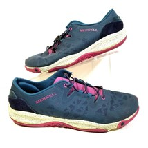 Merrell Select Grip Blue Wing Womens 9 Running Shoes Blue Pink Unifly J6... - $34.64