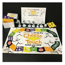 Diary of a Wimpy Kid Cheese Touch Board Game by Pressman FunFare 2010 Pr... - $23.47
