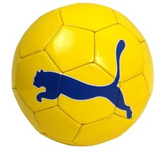 BRAND NEW PUMA POWER CAT SOCCER FOOTBALL ATHLETIC SPORT BALL YELLOW SIZE 4