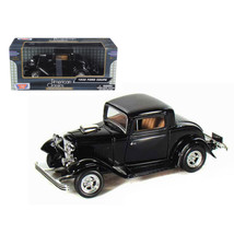 1932 Ford Coupe Black 1/24 Diecast Model Car by Motormax 73251bk - $29.91
