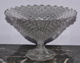 "Westmoreland Glassware English Hobnail 8"" Footed Bowl - $14.50"