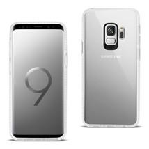 Reiko Samsung Galaxy S9 Soft Transparent TPU Case In Clear White - $7.72