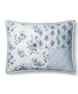 1  Simply Shabby Chic  Blue Dascha Patchwork Standard Pillow Sham NWOT - $20.07 CAD