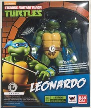 S.H Figuarts Leonardo Teenage Mutant Ninja Turtle Action Figure Bandai I... - $75.99