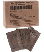 GI US Made Trioxane Fuel Tablets Compressed Ration Heating Bars Military... - $8.99