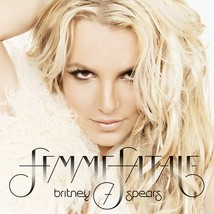 BRITNEY SPEARS (femme fatale) POSTER 24 X 24 Inches Looks great - $19.94