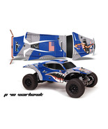 AMR RC Graphic Decal Sticker Kit Traxxas JCONCEPTS Short Course BAJR WAR... - $29.65