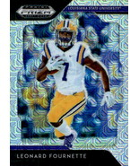 Leonard Fournette 2019 Panini Prizm Draft Mojo Parallel Card #61 9/49 - $5.00
