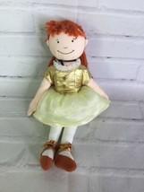 Rich Frog Degas Little Ballerina Marie Cloth Plush Stuffed Doll Yarn Red... - $24.74