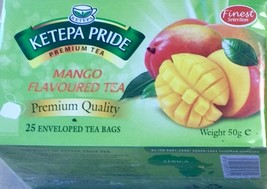 Flavoured Tea - Mango Flavoured Ketepa Pride Tea with Mango infusions - $3.85