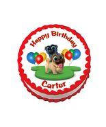 Puppy Dog Pals Round Edible Cake Image Cake Topper - $8.98+
