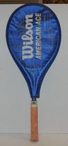 Wilson American Ace Wide body Tennis Racquet 4 3/8 - $14.03