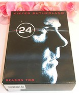 24 Kiefer Sutherland Complete Season Two (2) TV Series Gently Used DVD's... - $19.99