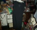 WHITE HOUSE BLACK MARKET Polished Crow Black Dress Size 2
