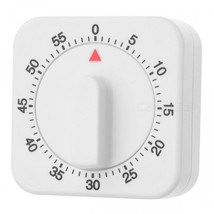 Wind-up Plastic Count Down Timer - White - $11.23