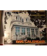 1996 Calendar Marine Corps Association, The Commandants 1775-1996 - $8.99
