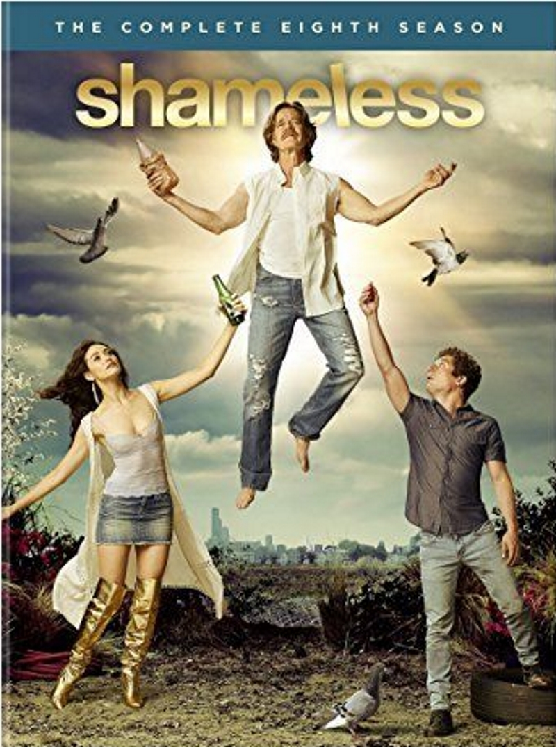 Shameless The Complete Eighth Season 8 (3-Disc, DVD 2018) Comedy, Emmy Rossum