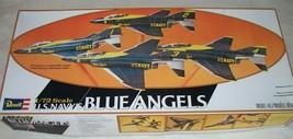 Revell 1:72 F-4 US Navy Blue Angels (4) jet formation set. Complete - $90.00