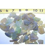 KARPP 1/2 LB Yellow Green Beach Seaglass SEA Glass - Seashells Crafts We... - $9.23