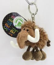 "NICI Mammoth Brown Animal Plush Stuffed Toy Beanbag Key Chain Keyring 4"" - $12.50"