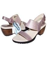 "✿ JAMBU Sunstone Memory-Foam Genuine Leather 2.5"" Heel Sandals 9.5 M NEW... - $65.54"