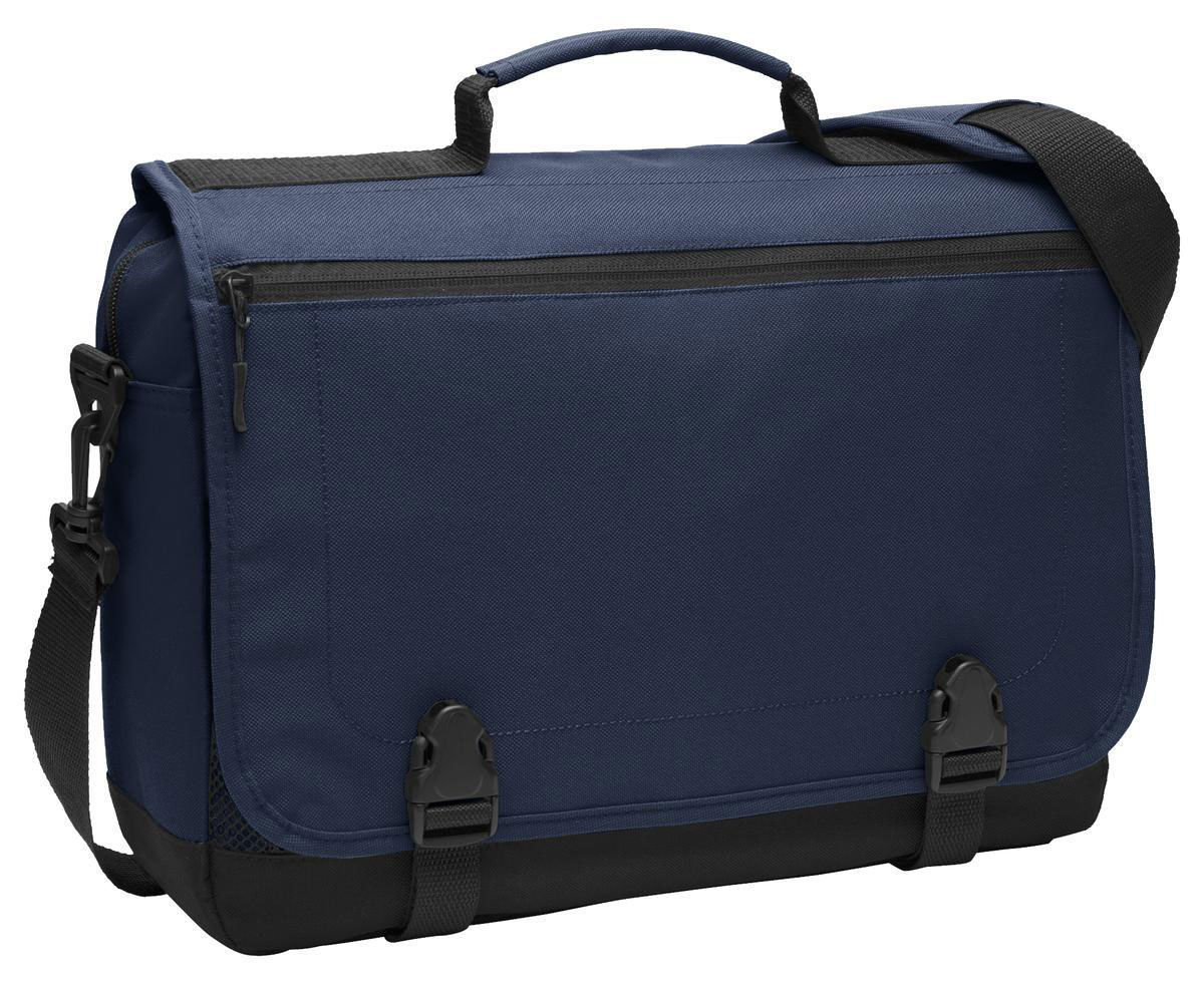 Port Authority Business Top Carrying Handle Buckle Closure Briefcase. BG304 - $17.50