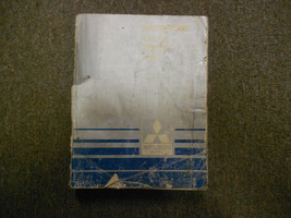 1987 MITSUBISHI Mirage Service Repair Shop Manual Volume 1 Engine Body BOOK 87 - $17.44