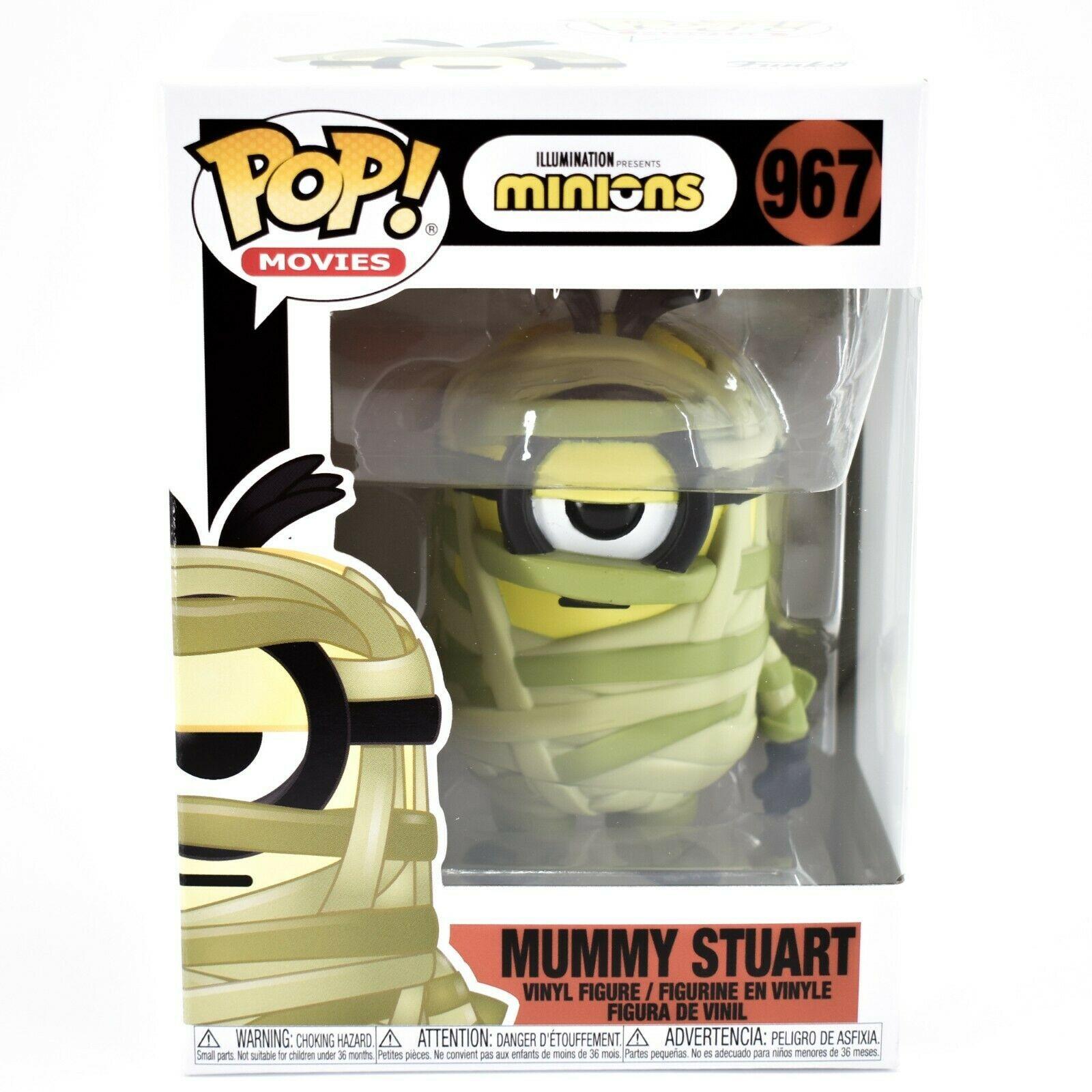 Funko Pop! Movies Minions Mummy Stuart #967 Halloween Action Figure