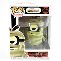 Funko Pop! Movies Minions Mummy Stuart #967 Halloween Action Figure