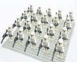 20 PCS/Set LEGION CLONE TROOPER Star Wars Minifigures Custom Lego