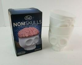 Boneheaded Fred NomSkulls Kooky Creepy Cupcake Molds Pack of 4 Made of S... - $14.84