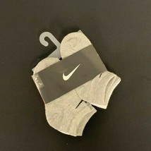 Nike Kids 6 Pack Low Cut Socks with Swoosh Logo (6 Pairs) 10C-13C #171G - $8.90