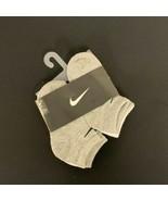 Nike Kids 6 Pack Low Cut Socks with Swoosh Logo (6 Pairs) 10C-13C #171G - $8.90