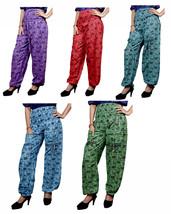 25Pcs Cotton Casual Elephant Print Hippie Yoga Harem Baggy Pants Wholesa... - $139.99