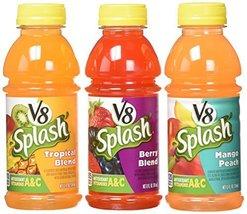 V8 Splash Variety Pack Juice (Pack of 18) 12 Fl Oz, 216 Fluid Ounce - $34.24