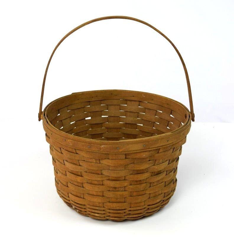 Longaberger Bread Basket Liner Plaid Tidings