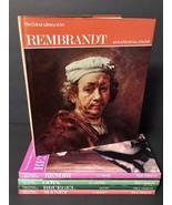 Colour Color Library of Art Bundle Lot Paul Hamilyn Rembrandt Renoir Goya - $27.73