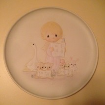 1982 Precious Moments Christmas Let Heaven and Nature Sing Collector's Plate New - $18.99